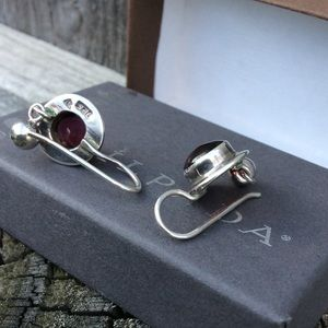 Silpada Garnet Earrings
